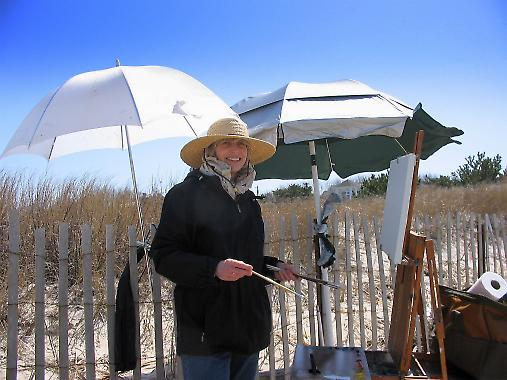 Outdoor Oil Painting with Gerry Heydt - Cape May Series - Image 2