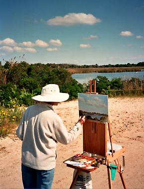 Outdoor Oil Painting with Gerry Heydt - Cape May Series - Image 3